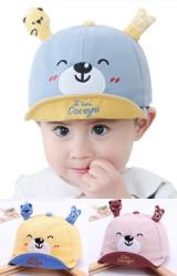 หมวกแก๊ปหมีน้อยน่ารัก หมวกเด็กแบบใหม่