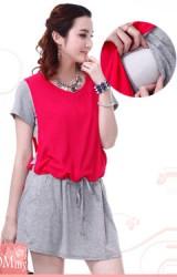 ชุดคลุมท้องผ้ายืดสไตล์สปอร์ต เพิ่มความสวยเด่นด้วยผ้าชีฟองสีสันสดใส
