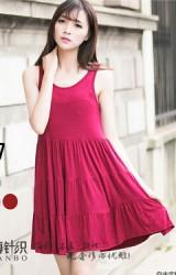 ชุดคลุมท้องผ้ายืดแขนกุดตัวสั้น หรือจะใส่เป็นเสื้อคลุมท้องตัวยาว
