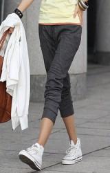 กางเกงคลุมท้องผ้ายืดขายาว หรือใส่เป็นแบบขา 5 ส่วน ก็เท่ไปอีกแบบ