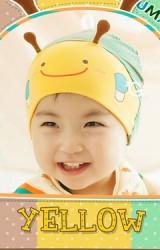 หมวกผึ้งน้อยน่ารัก สำหรับเด็ก 3-18 เดือน
