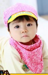 หมวกแก๊ปเด็กลายรูปสัตว์น่ารักมาพร้อมผ้ากันเปื้อน TUTUYA